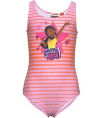 cm-51350 - swimsuit baddräkt badkläder rosa lego wear