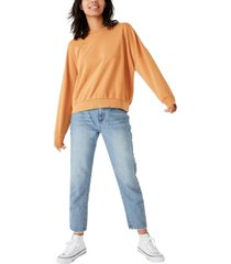 cotton on harper boxy oversized crew sweater