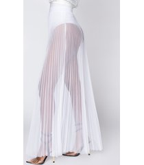 akira can't stop maxi tulle skirt