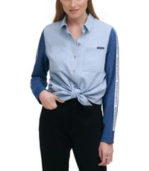 calvin klein jeans americana button-up shirt