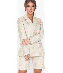 nly trend fancy jacquard blazer jackor