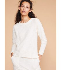 loft lou & grey tweedknit sweatshirt