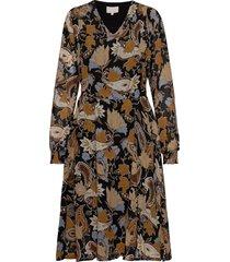 ruca dress knälång klänning multi/mönstrad minus
