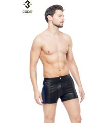 * code8 by xxx collection heren short zwart/blauw