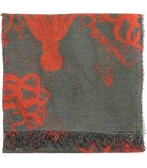uma wang cotton scarf