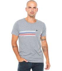 camiseta rvca islands cinza - cinza - masculino - dafiti
