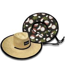 chapéu de palha kouk coco