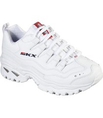 zapatos mujer  energy - timeless vision blanco skechers