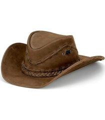 chapéu fourcountry australiano tabaco liso bege