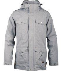 chaqueta hombre nalca impermeable gris lippi