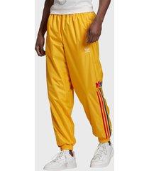 pantalón de buzo adidas originals 3d tf 3 strp tp amarillo - calce regular