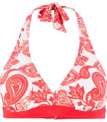reggiseno per bikini con scollo all'americana (rosso) - bpc bonprix collection