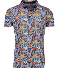 a fish named fred poloshirt bloemenprint