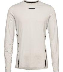 vent mesh ls tee m t-shirts long-sleeved creme craft