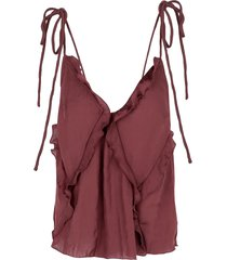 free people sleeveless undershirts