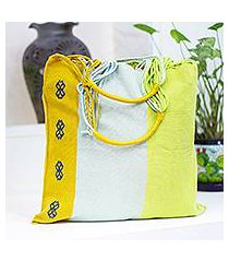 cotton tote bag, 'bright day' (mexico)