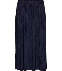 uma skirt 10167 rok knielengte blauw samsøe samsøe
