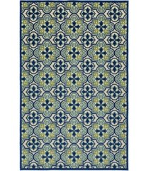 "kaleen a breath of fresh air fsr104-17 blue 5' x 7'6"" area rug"