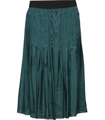 usoa knälång kjol grön by malene birger