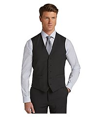 travel tech collection slim fit men's suit separate vest - big & tall by jos. a. bank
