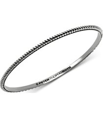 peter thomas roth twist bangle bracelet in sterling silver