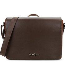 walden leather messenger bag