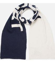 polo ralph lauren men's polo sport scarf - cream/navy