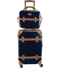 """chariot gatsby 2-pc. 20"""" carry-on and beauty case set"""