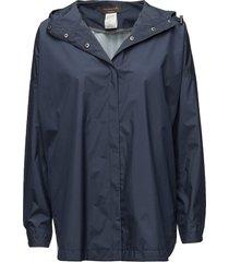 cape outerwear rainwear rain coats blå rosemunde