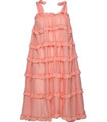 blanca dress knälång klänning rosa by malina