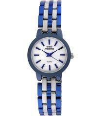 reloj azul montreal combinado