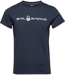 bowman tee t-shirts short-sleeved blå sail racing