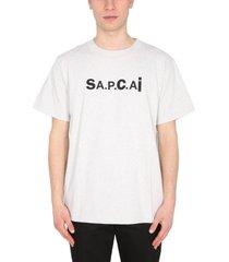 a.p.c. x sacai kiyo t-shirt