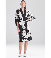 natori lotus sleep & lounge bath wrap robe, women's, size 2x natori