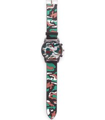 reloj para hombre color gris, talla uni