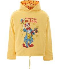 martine rose reversible hoodie