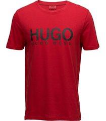 dolive t-shirts short-sleeved röd hugo
