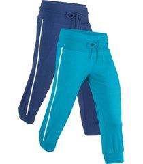 pantaloni in felpa (blu) - bpc bonprix collection