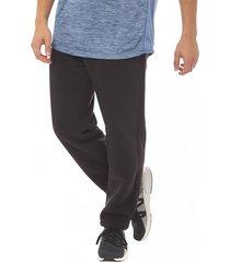 pantalon buzo recto negro corona