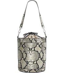 inc ajae snake bucket bag, created for macy's