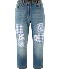 jeans capri (blu) - bpc bonprix collection