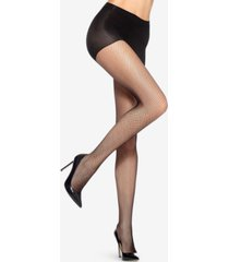 hue control-top sheer fishnet tights