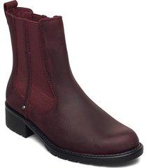 orinoco club shoes chelsea boots röd clarks