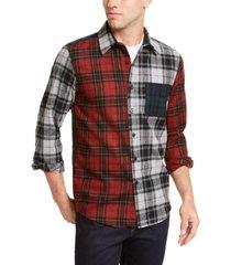 pendleton men's mixed plaid tartan shirt