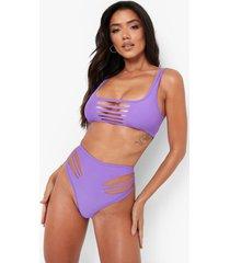 versleten bikini broekje, electric lilac