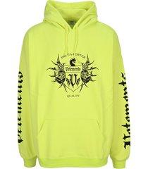 vetements hoodie black label