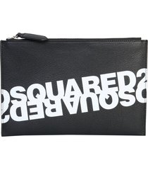 dsquared2 pouch with logo