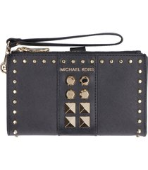 michael michael kors adele saffiano leather wallet