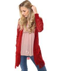saco rojo moni tricot