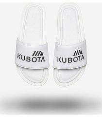 klapki kubota premium classic white